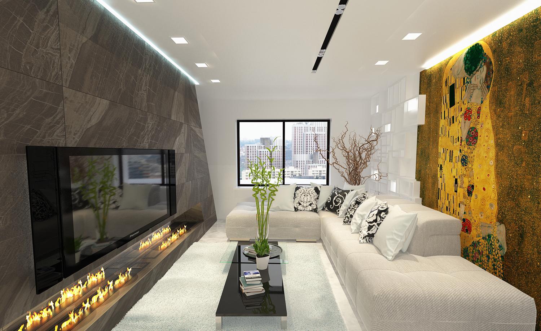 Интерьер гостиной II3