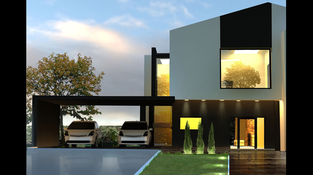 Проект мансардный с террасой 56Т