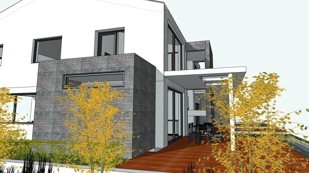 Проект мансардного дома ТОV