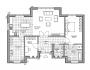 Проект 1 этажного дома PP-25
