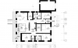 Проект 1 этажного дома блочный, с террасой и гаражем  ZS